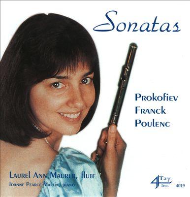 Prokofiev, Franck, Poulenc: Sonatas