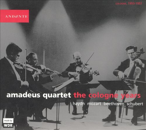 Amadeus Quartet: The Cologne Years