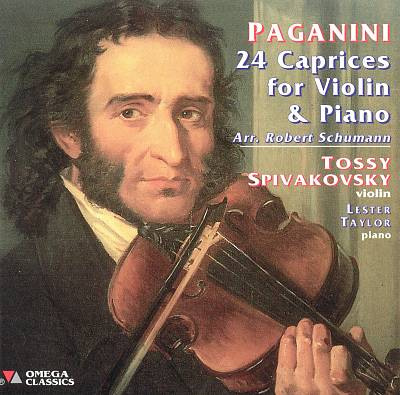 Paganini: Caprices for violin