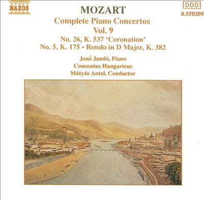 Mozart: Complete Piano Concertos, Vol. 9