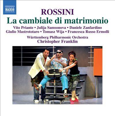 Rossini: La cambiale di matrimonio