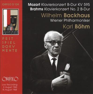 Mozart, Brahms: Piano Concertos