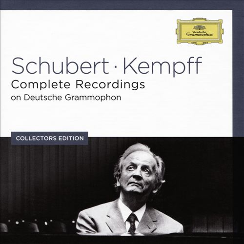 Schubert, Kempff: Complete Recordings on Deutsche Grammophon