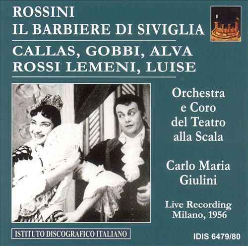 Rossini: Il Barbiere di Siviglia [1956 Milan]