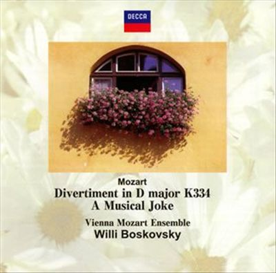 Mozart: Divertimento in D minor No. 17 K334; A Musical Joke