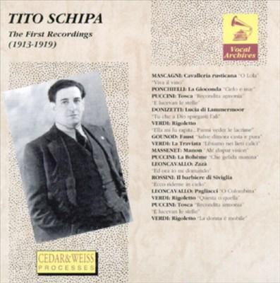 Tito Schipa: The First Recordings (1913-1919)