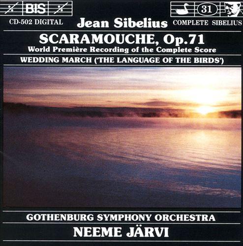 Sibelius: Scaramouche, Op. 71