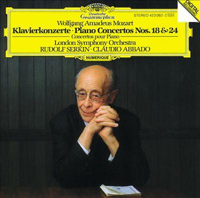 Mozart: Piano Concertos Nos. 18 & 24