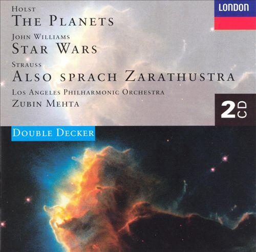 Gustav Holst: The Planets; John Williams: Star Wars Suite; Richard Strauss: Also sprach Zarathustra