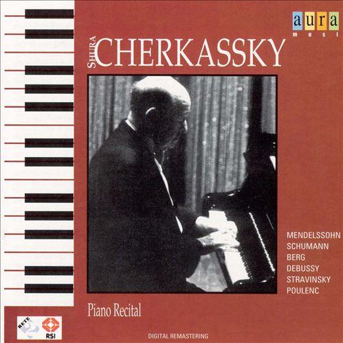Cherkassky: Piano Recital