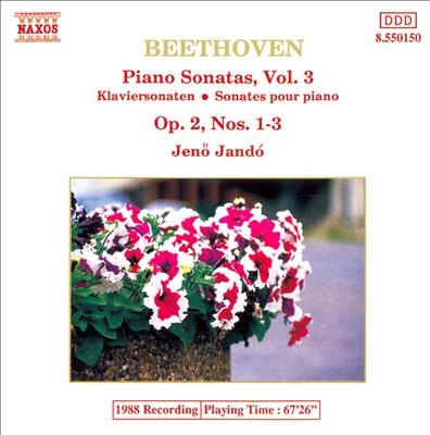 Beethoven: Piano Sonatas, Vol. 3