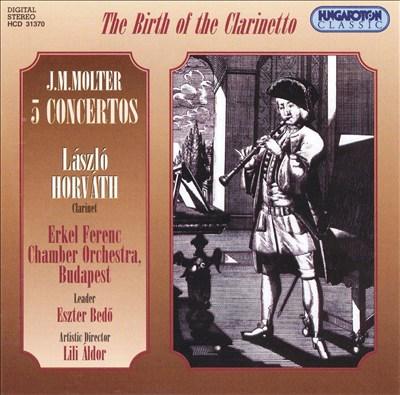 Molter: Clarinet Concertos