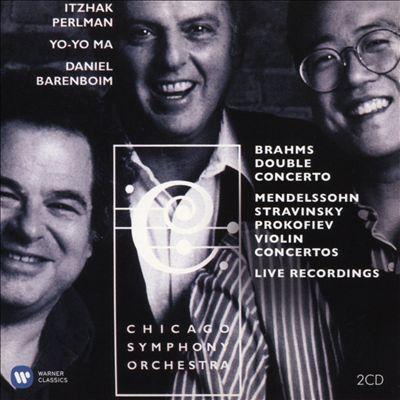 Brahms: Double Concerto; Mendelssohn, Stravinsky, Prokofiev: Violin Concertos