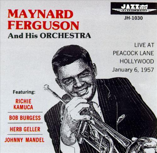 Live at Peacock Lane Hollywood 1957