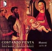 Costanzo Festa: Mottetti Vol. I & II