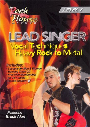 Lead Singer: Heavy Rock To Metal Level 1 [DVD/CD]