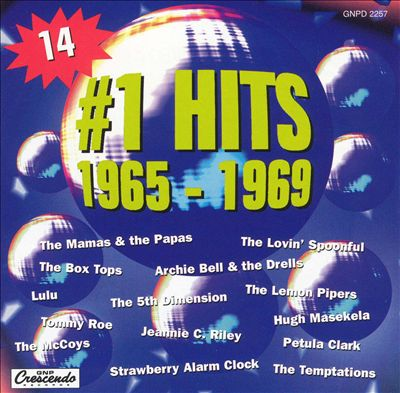 #1 Hits of 1965-1969