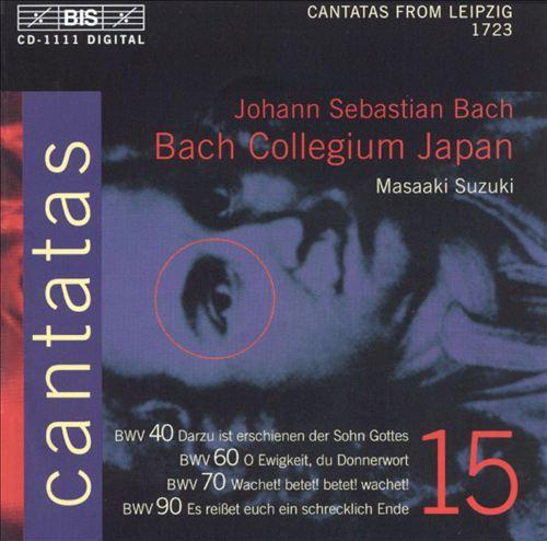 Bach: Cantatas, Vol. 15