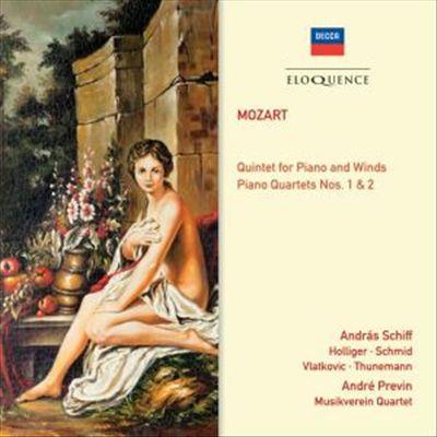 Mozart: Quintet for Piano and Winds; Piano Quartets Nos. 1 & 2