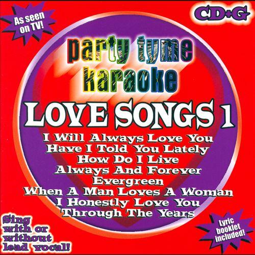 Party Tyme Karaoke: Love Songs, Vol. 1