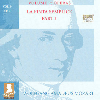 Mozart: Complete Works, Vol. 9 - Operas, Disc 4