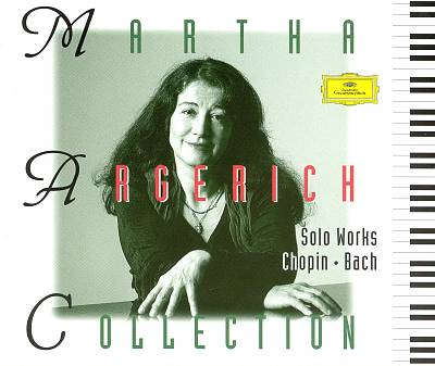 Martha Argerich Collection: Solo Works Chopin, Bach