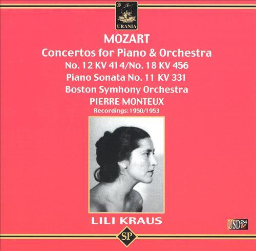 Mozart: Concertos for Piano and Orchestra Nos. 12, 18 11