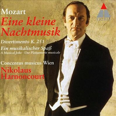 Mozart: Eine kleine Nachtmusik; Divertimento, K. 251; A Musical Joke