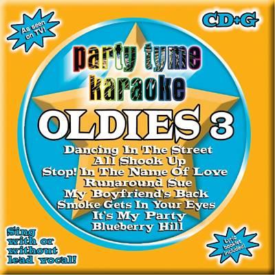 Party Tyme Karaoke: Oldies, Vol. 3 [2004]