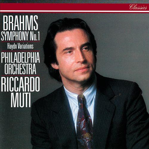 Brahms: Symphony No. 1; Haydn Variations