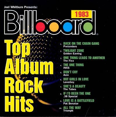 Billboard Top Album Rock Hits 1983