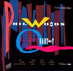 Phil Woods Quartet, Live, Vol. 1