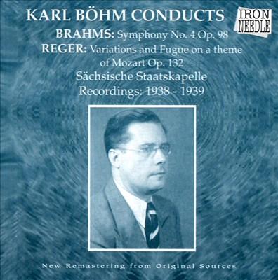 Karl Böhm Conducts Brahms & Reger