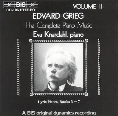 Grieg: The Complete Piano Music, Vol. 2