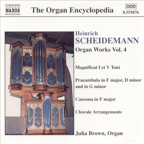 Heinrich Scheidemann: Organ Works, Vol. 4