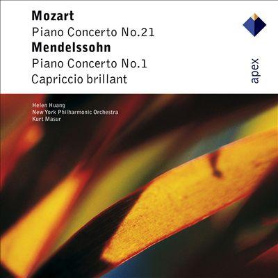 Mozart: Piano Concerto No. 21; Mendelssohn: Piano Concerto No. 1; Capriccio Brillant