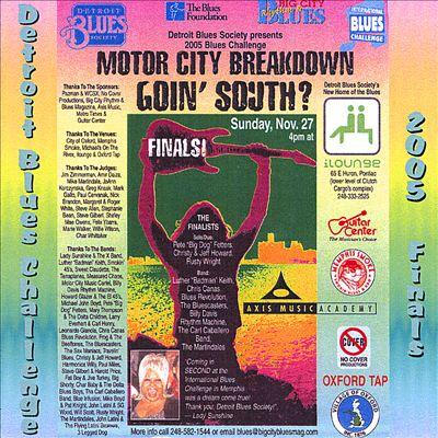 Detroit Blues Challeng 2005 Finals