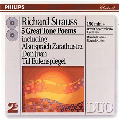 Richard Strauss: 5 Great Tone Poems