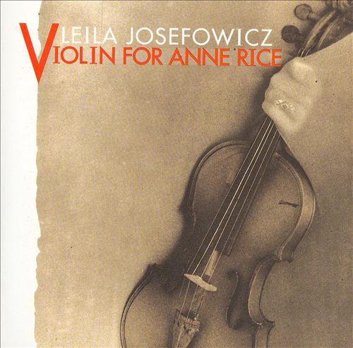 Violin for Anne Rice