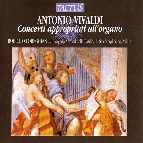 Vivaldi: Concerti appropriati all'organo