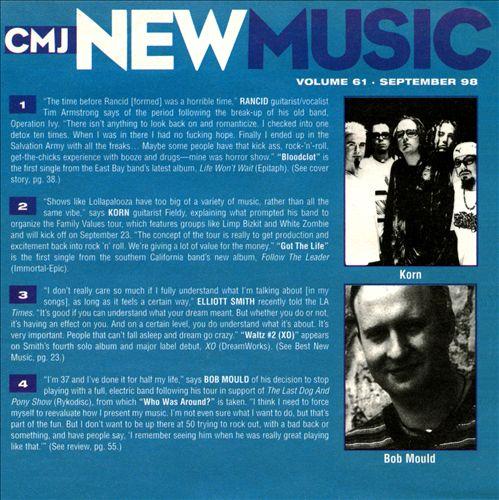 CMJ New Music, Vol. 61