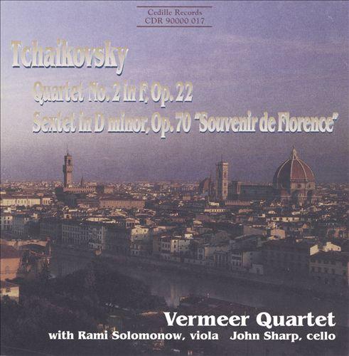 "Tchaikovsky: String Quartet No. 2; String Sextet ""Souvenir de Florence"""