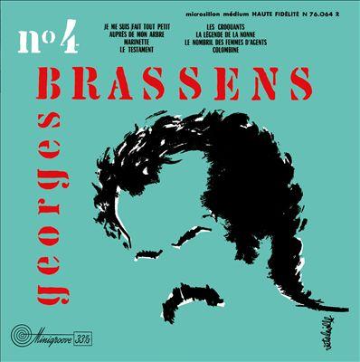Georges Brassens Et Sa Guitare Nø 4