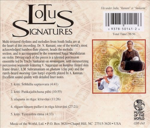 Lotus Signatures