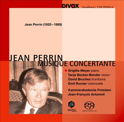 Jean Perrin: Musique Concertante