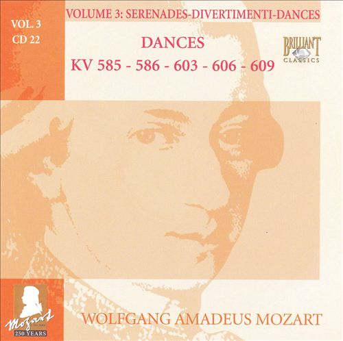 Mozart: Complete Works, Vol. 3 - Serenades, Divertimenti, Dances, Disc 22