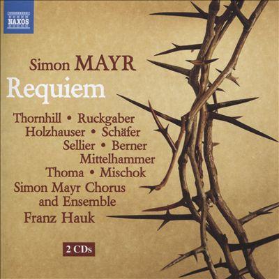 Simon Mayr: Requiem