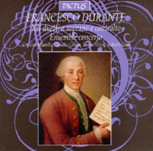 Francesco Durante: XII duetti a soprano 3 contralto