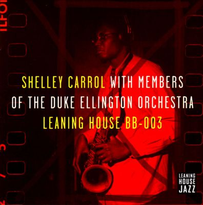 Shelley Carrol with Members of the Duke Ellington Orchestra