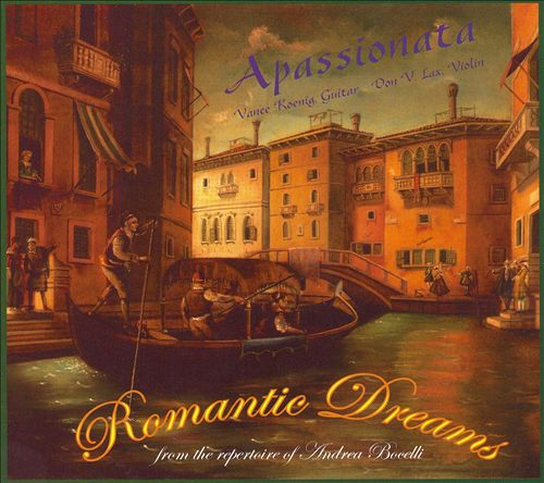 Romantic Dreams: From the Repertoire of Andrea Bocelli